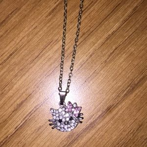"""Other - 18"""" costume Kitty necklace"""